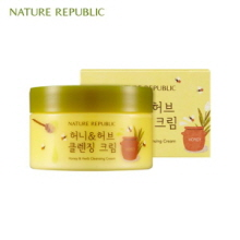 NATURE REPUBLIC Honey&Herb Cleansing Cream 215ml, NATURE REPUBLIC