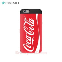 SKINU Coca Cola Card Bumper Phone Case Red,Beauty Box Korea