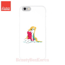 ALL NEW FRAME Pin-up girl blond Hard Phone Case 1ea,Beauty Box Korea