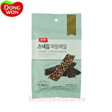 DONGWON Yangban Crispy Laver Snack Buckwheat 20g,Beauty Box Korea