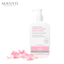 MANYO FACTORY Moist Floral Body Wash 300ml, MANYO FACTORY