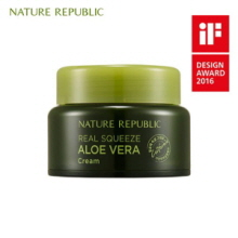 NATURE REPUBLIC Real Squeeze Aloe Vera Cream 50ml, NATURE REPUBLIC