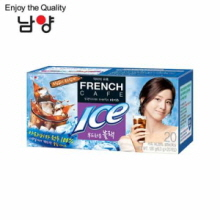 NAMYANG French Cafe Coffee Mix Ice Mild Black 6.3g x 20 Sticks, NAM YANG