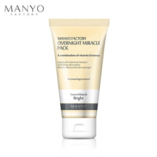 MANYO FACTORY Overnight Miracle Pack 100ml, MANYO FACTORY