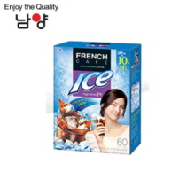 NAMYANG French Cafe Coffee Mix Ice Mild Black 6.3g x 60 Sticks, NAM YANG