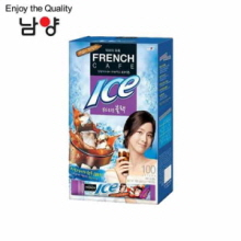NAMYANG French Cafe Coffee Mix Ice Mild Black 6.3g x 100 Sticks, NAM YANG