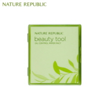NATURE REPUBLIC Beauty Tool Oil Paper Pact 50p, NATURE REPUBLIC