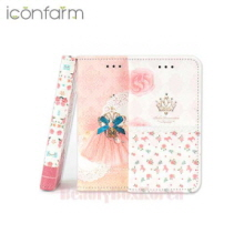 ICONFARM 3Item Cubig Garden Book Diary Phone Case