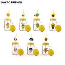 KAKAO FRIENDS Drink Jar Strow Set,Beauty Box Korea