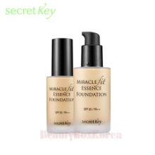 SECRET KEY Miracle Fit Essence Foundation 30ml, SECRET KEY