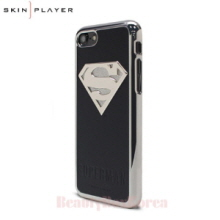 SKIN PLAYER 4Items Batman&Superman Premium Steel Phone Case,Beauty Box Korea