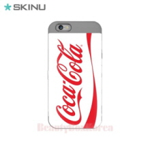 SKINU Coca Cola Card Bumper Phone Case White,Beauty Box Korea