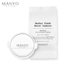 MANYO FACTORY Herbal Fresh Moist BB Cushion Refill 18g, MANYO FACTORY
