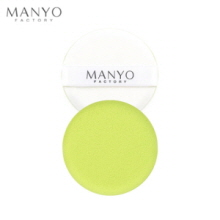 MANYO FACTORY Herbal Fresh Moist Cushion Puff 1ea, MANYO FACTORY