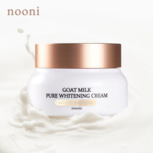 MEMEBOX NOONI Goat Milk Pure Whitening Cream 70g, NOONI