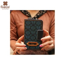 FLABONI Antique Mood Green Navy Wallet Phonecase