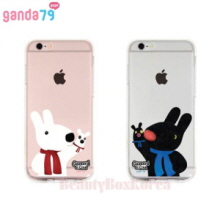GANDA79 7Items Gaspard&Lisa Clear Jelly Phone Case