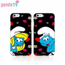 GANDA79 11Items Smurfs 3D Hard Phone Case