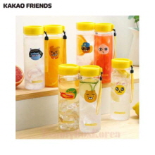 KAKAO FRIENDS Water Bottle 1ea,Mu&U,Beauty Box Korea