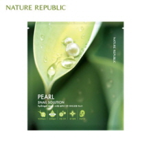 NATURE REPUBLIC Snail Solution Hydrogel Mask 25ml, NATURE REPUBLIC
