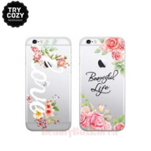 TRYCOZY 5Items Flower Typa Jelly Phone Case