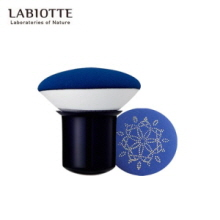 LABIOTTE Makers Mushroom Rubycell Puff,Beauty Box Korea