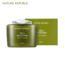 NATURE REPUBLIC Cell Boosting Night Cream 55ml, NATURE REPUBLIC