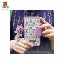 FLABONI Meomory of The Old Nosegay Marttel Light Violet Wallet Phonecase