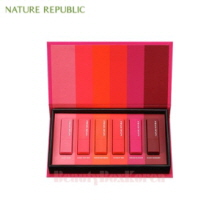 NATURE REPUBLIC Kiss My Mini Lipstick Kit 1.3g*6ea,NATURE REPUBLIC,Beauty Box Korea