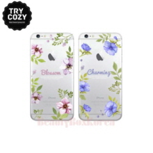 TRYCOZY 5 Items Romantic Flower Phone Case