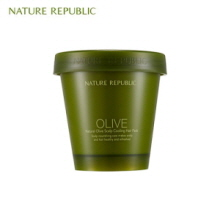NATURE REPUBLIC Natural Olive Scalp Cooling Hair Pack 200ml, NATURE REPUBLIC