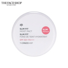THE FACE SHOP Slim Fit_Moist Pact SPF50+ PA+++ 11g, THE FACE SHOP