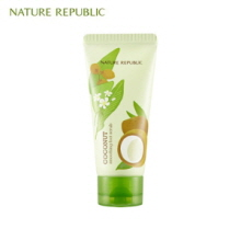 NATURE REPUBLIC Foot&Nature Coconut Smoothing Foot Scrub 80ml, NATURE REPUBLIC