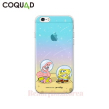 COQUAD 3 Items Sponge Bob Inmold Jelly Phone Case
