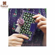 FLABONI Meomory of The Old Nosegay Marttel Dark Violet Wallet Phonecase