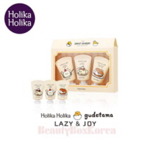 HOLIKA HOLIKA Lazy & Joy Dessert Hand Cream Set(Gudetama Edition Ver.2) 30ml*3ea, HOLIKAHOLIKA