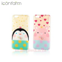 ICONFARM 3Item Tinker Bell Air Jelly Phone Case,ICONFARM ,Beauty Box Korea