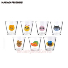 KAKAO FRIENDS Water Glass 1ea,Mu&U,Beauty Box Korea