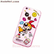MADEWELL-CASE Power Puff Girls Clear Jelly Sticker Blossom, MADEWELL-CASE