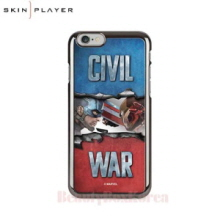 SKIN PLAYER Marvel Civil War Premium Mirror Art Phone Case,SKIN PLAYER