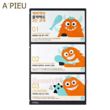 A'PIEU Goblin Blackhead 3-step Nose Pack 3g+0.2g+3g,Beauty Box Korea