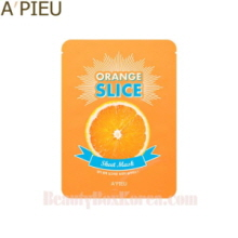A'PIEU Orange Slice Sheet Mask 20g(12ea), A'Pieu