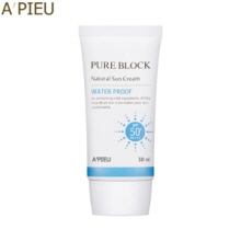 A'PIEU Pure Block Natural Water-Proof Sun Cream 50ml, A'Pieu