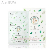 A. BY BOM Ultra Cool Leaf Mask  A1 6ml+A2 25ml 5ea(1box)