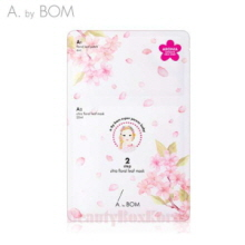 A. BY BOM Ultra Floral Leaf Mask A1 6ml+A2 25ml [WS],Beauty Box Korea