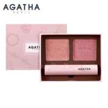 AGATHA Blanc Lady Scottie Look Book 4.5g+4.5g+3.5g