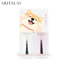 ARITAUM Modi All In One Nail Kit 4ml*2 [Shiro & Maro Edition]