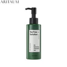 ARITAUM Teatree Solution PH Cleansing Gel 150ml, ARITAUM