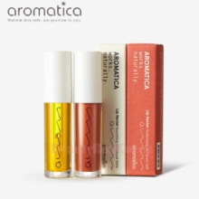AROMATICA Lip Nectar Moisturizing Oil Set 5ml*2