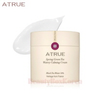 A-TRUE Spring Green Tea Watery Calming Cream 80g,Atrue